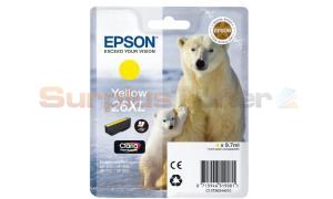 EPSON XP-600 / XP-800 INK CARTRIDGE YELLOW HY (C13T26344010)