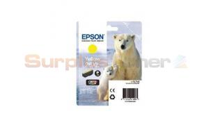 EPSON XP-600 / XP-800 INK CARTRIDGE YELLOW HY (C13T26344020)