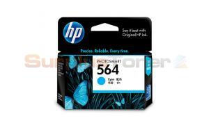 HP NO 564 INK CARTRIDGE CYAN (CB318WA)