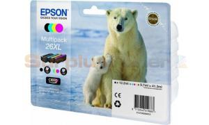 EPSON XP-600 / XP-800 INK CTG MULTI-PACK CMYK HY (C13T26364010)
