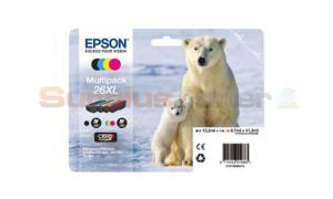 EPSON XP-600 / XP-800 INK CTG MULTI-PACK CMYK HY (C13T26364020)