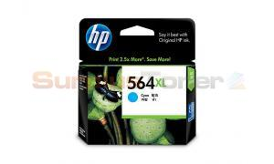 HP NO 564XL INK CARTRIDGE CYAN (CB323WA)