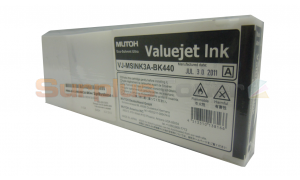 MUTOH VJ-1624 ECO ULTRA INK BLACK 440ML (VJ-MSINK3A-BK440)