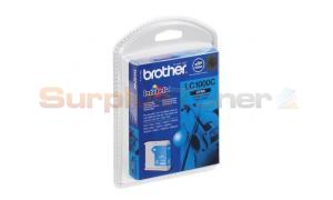 BROTHER DCP-130C INK CARTRIDGE CYAN  (LC-1000CBPDR )