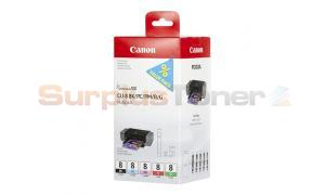 CANON CLI-8 INK CART BK/PC/PM/R/G MULTIPACK (0620B027)