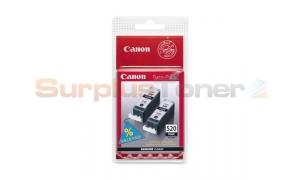 CANON PGI-520BK INK TANK BLACK TWIN PACK (2932B012)