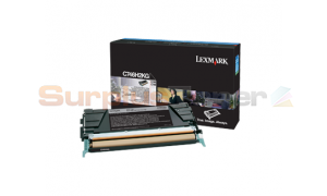 LEXMARK C746 TONER CARTRIDGE BLACK HY (C746H2KG)