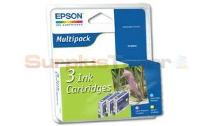 EPSON STYLUS RX500 INK CTG COLOUR TRI-PACK (C13T048B40)
