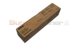 DEVELOP INEO+ 200 TONER CARTRIDGE YELLOW (A0D72D3)