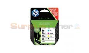 HP NO 364XL 364 INK CART CMYK COMBO PACK (CZ676EE)