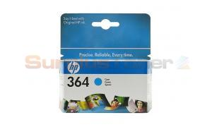HP NO 364 INK CARTRIDGE CYAN (CB318EE#BA1)