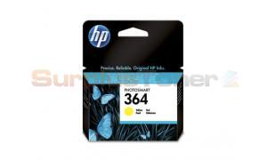 HP NO 364 INK CARTRIDGE YELLOW (CB320EE#BA1)