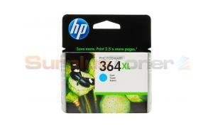 HP NO 364XL INK CARTRIDGE CYAN (CB323EE#ABB)