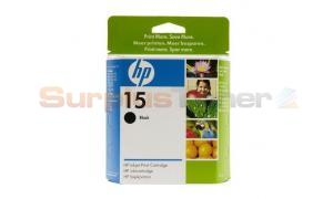 HP NO 15 INKJET PRINT CARTRIDGE BLACK (C6615DE#ABB)