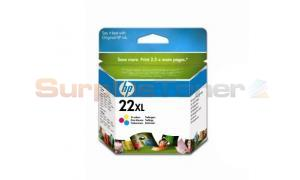 HP NO 22XL INKJET PRINT CARTRIDGE TRI-COLOUR (C9352CE#ABB)