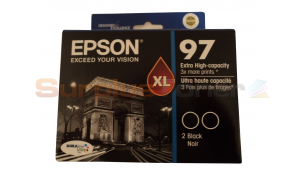EPSON 97 XL INK CARTRIDGE BLACK XHY (C13T097126)