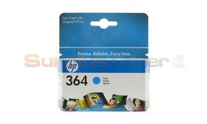 HP NO 364 INK CARTRIDGE CYAN (CB318EE#ABE)