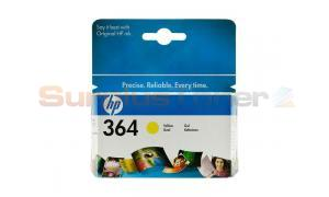 HP NO 364 INK CARTRIDGE YELLOW (CB320EE#ABE)