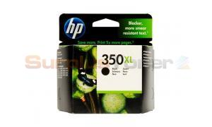 HP NO 350XL INKJET PRINT CARTRIDGE BLACK (CB336EE#ABE)