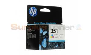 HP NO 351 INKJET PRINT CARTRIDGE TRI-COLOUR (CB337EE#ABB)