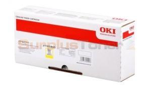 OKI C711 TONER CARTRIDGE YELLOW (44318605)