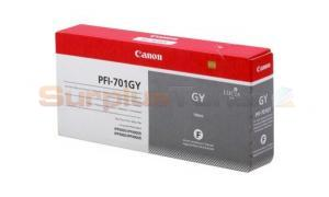CANON PFI-701GY INK GRAY 700ML (0909B005)