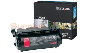 LEXMARK T632 TONER CARTRIDGE (12A7360)