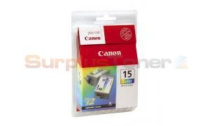 CANON BCI-15 INK TANK COLOR TWIN PACK (8191A011)