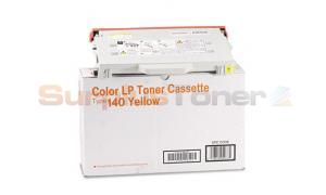 RICOH CL1000 TYPE 140 TONER CASSETTE YELLOW (402073)