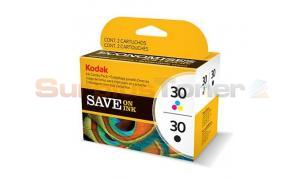 KODAK NO 30 INK CART CMYK COMBO PACK (3952355)