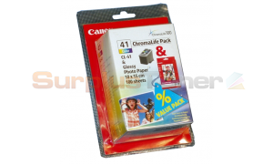 CANON CL-41 INK CTG COLOR + GP-501 PAPER (0617B008)