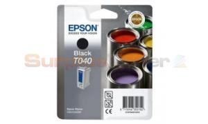 EPSON STYLUS C62 INK CARTRIDGE BLACK (C13T04014030)