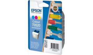 EPSON STYLUS 400 600 INK CARTRIDGE COLOR (C13T05204020)