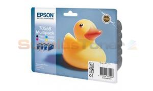EPSON STYLUS PHOTO RX420 INK CTG CMYK MULTIPACK (C13T05564020)