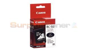 CANON BC-02 INK CARTRIDGE BLACK (0881A002)