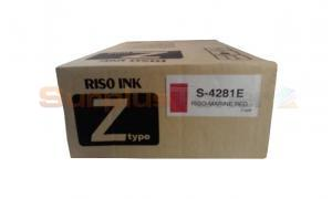 RISO Z TYPE INK MARINE RED (S-4281E)