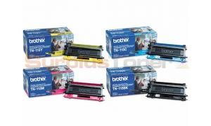 BROTHER HL-4040CN MFC-9440CN TONER BUNDLE PACK (BLACK, CYAN, MAGENTA, YELLOW) (TN-115-BUNDLE-4-COLORS)