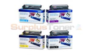 BROTHER MFC-9010CN TONER BUNDLE PACK ((BLACK, CYAN, MAGENTA, YELLOW) (TN-210-BUNDLE-4-COLORS)