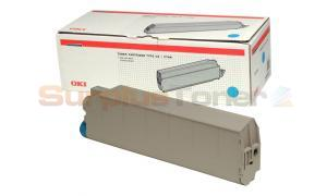 OKIDATA C9300/C9500 TYPE C5 TONER CARTRIDGE CYAN (41963607)