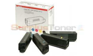 OKI C7100 C7300 C7500 TONER RAINBOW KIT (01101001)