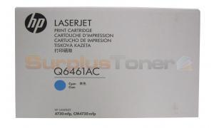 HP CLJ 4730 MFP CONTRACT TONER CARTRIDGE CYAN (Q6461AC)