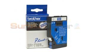 BROTHER TC TAPE WHITE ON BLUE 9 MM X 7.7 M (TC-595)