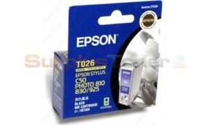 EPSON STYLUS PHOTO 810 INK CARTRIDGE BLACK (C13T026091)