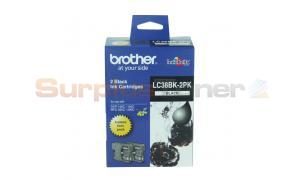 BROTHER DCP-145C INK CART BLACK TWIN PACK (LC-38BK-2PK)
