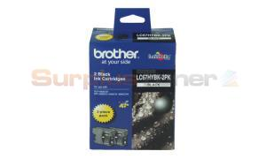 BROTHER MFC-6490CW INK CART BLACK HY TWIN PACK (LC-67HYBK-2PK)