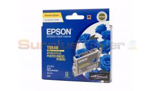 EPSON STYLUS PHOTO R800 INK CARTRIDGE BLUE (C13T054990)