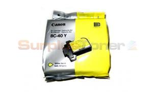 CANON BC-40Y INKJET CARTRIDGE YELLOW (0893A001)