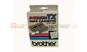BROTHER P-TOUCH BLUE ON CLEAR 24MM X15 M (TX-1531)