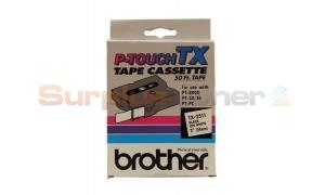 BROTHER P-TOUCH TAPE BLACK/WHITE (24 MM X 50 M) (TX-2511)