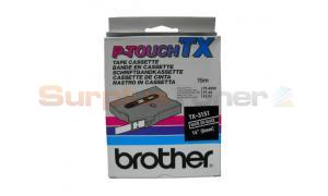 BROTHER P-TOUCH TAPE WHITE/BLACK (1/4 X 50) (TX-3151)